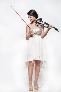 Electric violin show