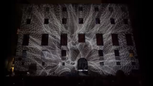 3D projection mapping show